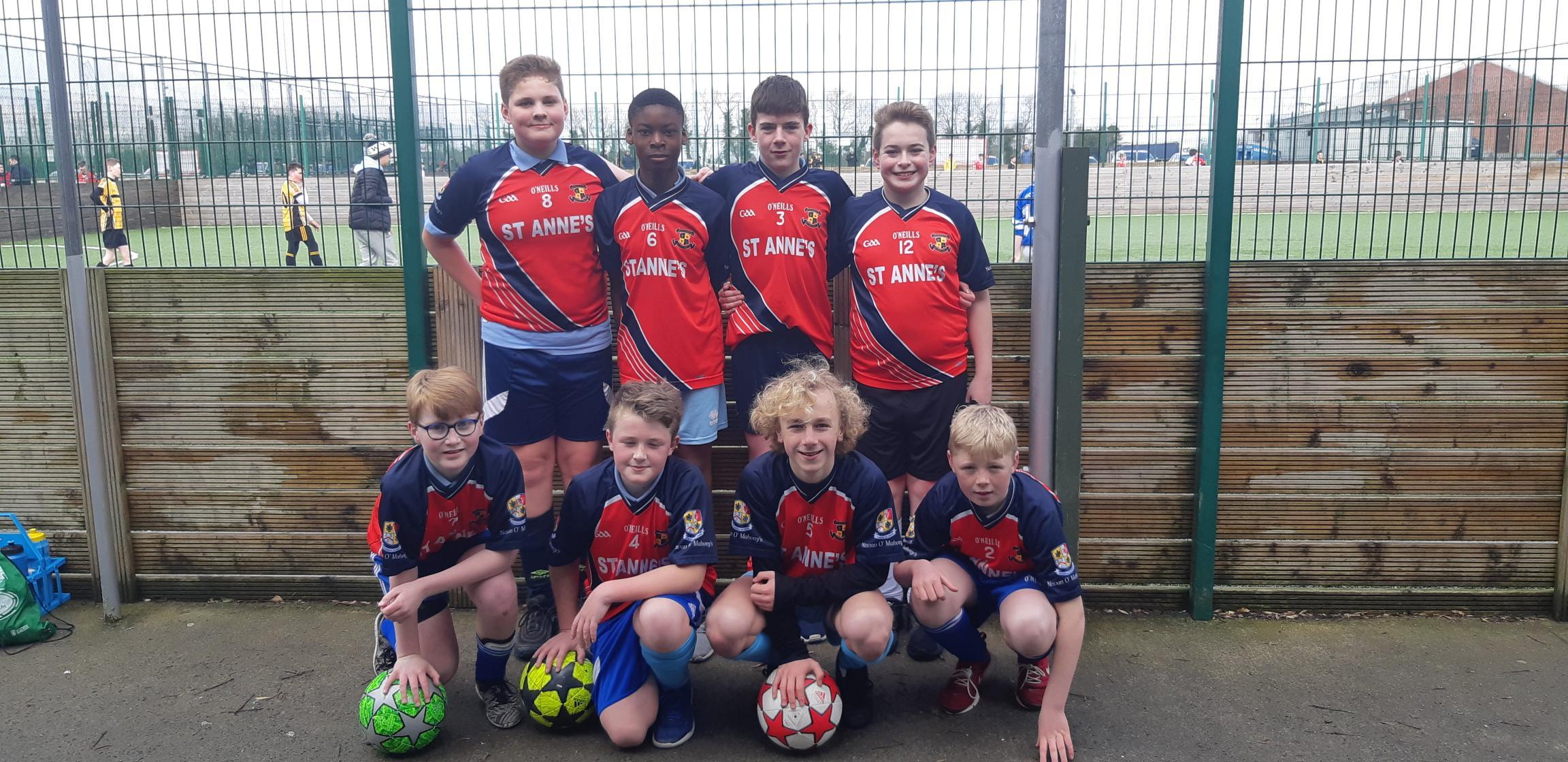 Boys 5 a-side soccer