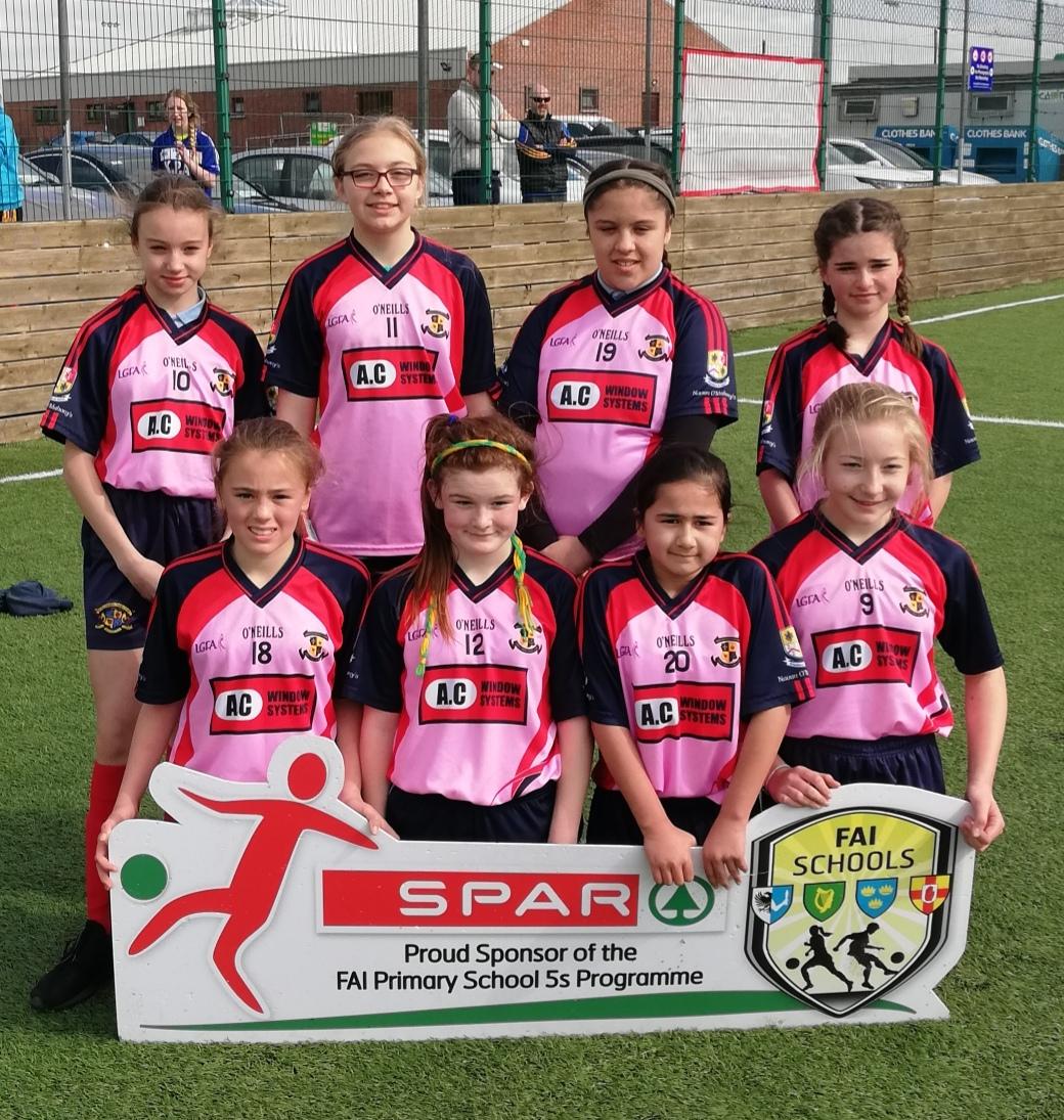 Girls 5 a-side soccer
