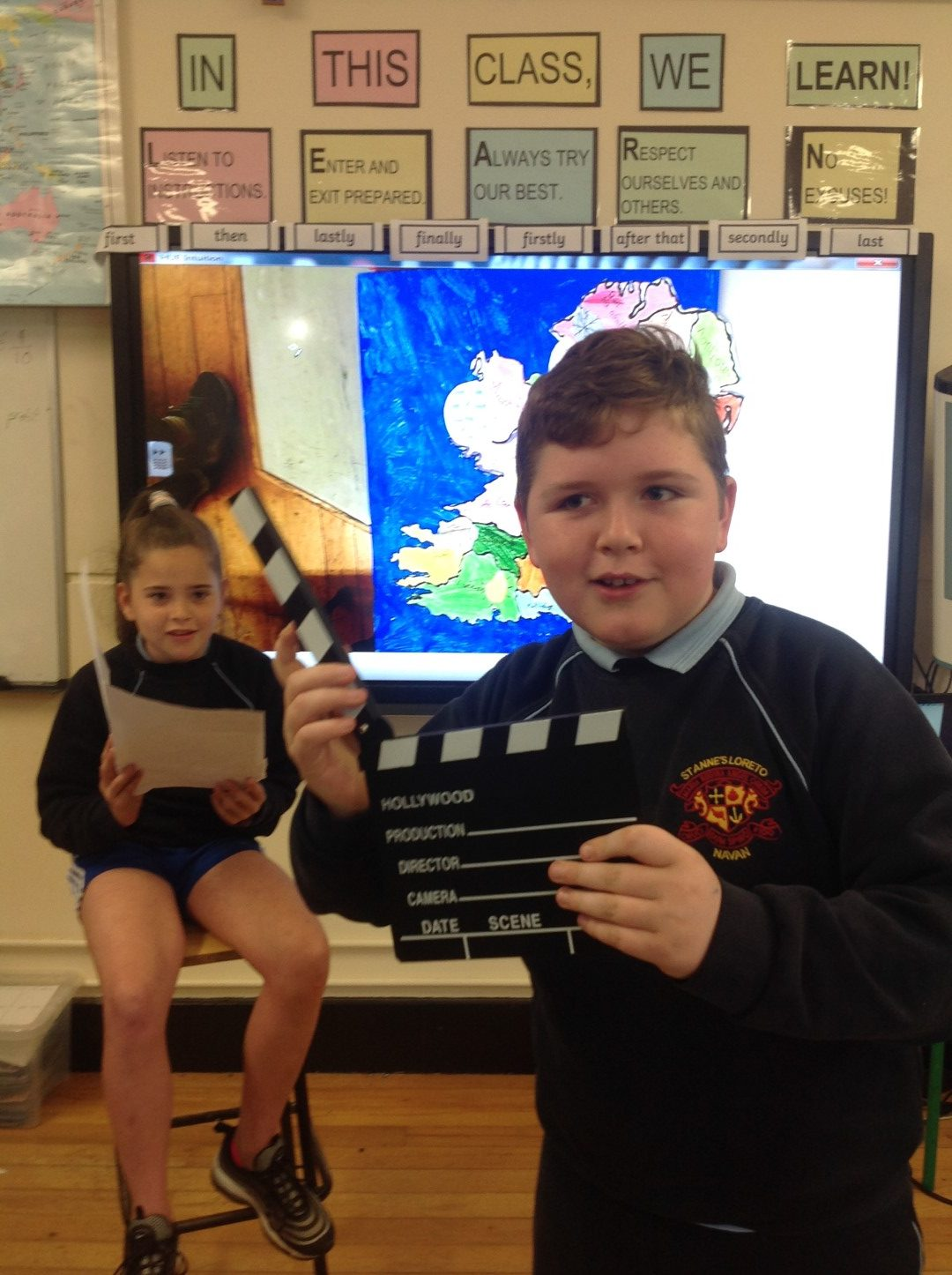 Class News – 5th Mr McKiernan